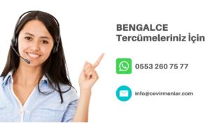 Bengalce Tercüme