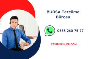 Bursa Tercüme Bürosu