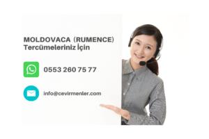 moldovca rumence tercüme