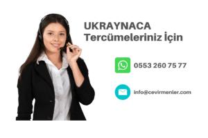 Ukraynaca Tercüme